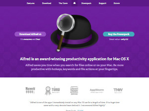 Alfred App - Productivity App for Mac OS X
