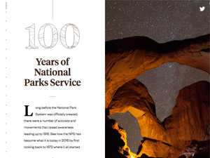100 Years of National Park Service