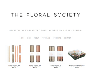The Floral Society-Shop