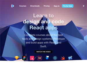 Learn to design and code React apps