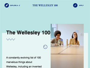 The Wellesley 100